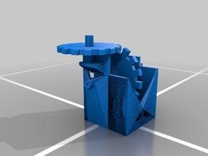 3d printer filament powered cog engine WIP