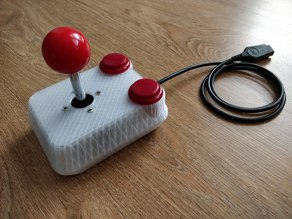 Competition Pro C64 Joystick (Frog)
