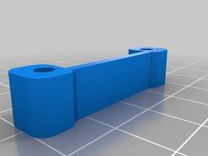 Duplicator 4 Extruder Heatsink/Fan 1-piece spacer