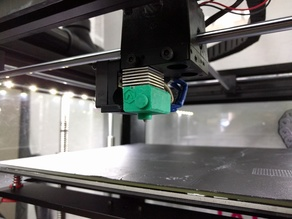 Silicone insulation sock for Raise3D V2 hotend