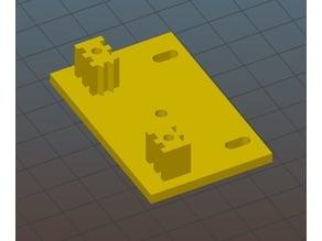 RepRap Prusa i3 Wilson Simple Y-axis Belt Holder