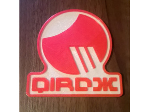 Wipeout Team Qirox Beer Mat / Drinks Coaster