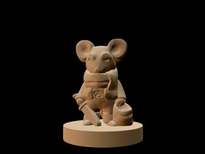 Mouseling Thief (18mm scale)