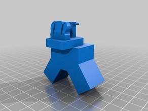 Modified Printrbot Simple Filament Guide with Marker Guide