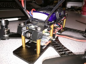 12mm FPV Cam Mount for ShenDrones Tweaker 180