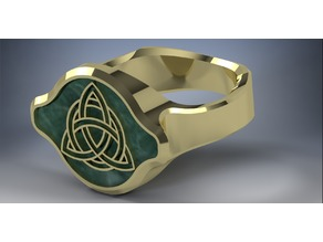 Celtic styled ring