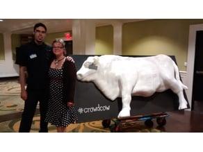 Veronin - CrowdCow - Portland, OR 3D Printed Cow - Half a Cow