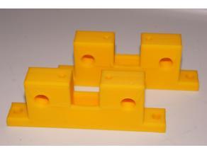 FLSUN Cube double rod holder