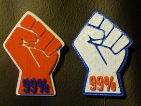 Occupy Wall Street Pin