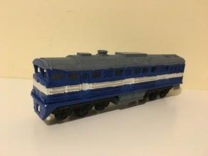 2TE116 Russian Diesel Train in H0 (1:87)