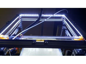 2020 LED Mount at 45° (great for Core XY)