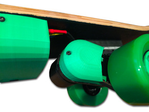 Pulley cover for Electric Skateboard