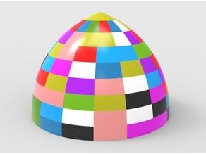 block parabola dome