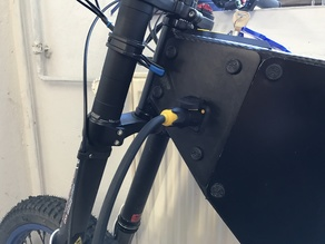 Vector Ebikeframe Sideplates with Charging Connector