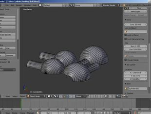 Learning to 3D model for print with Blender