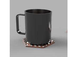 Dessous de mug design