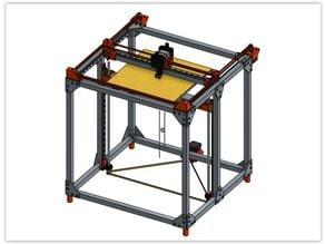 5RAILS CORE XY 3D Printer