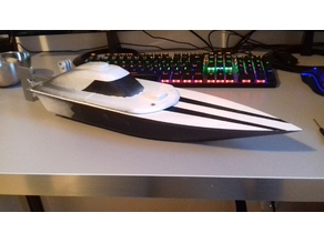RC SPEED BOAT WAVE CRUISER