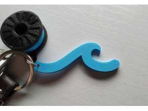 Wave Keychain