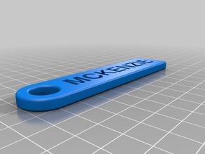 MCKENZIE Key Chain