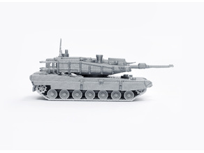 K2 Black Panther Tank Simple Model Kit