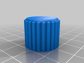 Knob for 6mm D head rotary encoder
