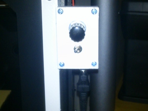 Wanhao Duplicator 4s control box cooling fan