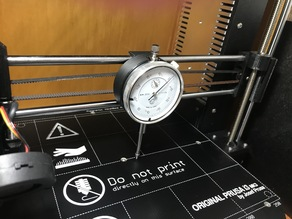 Dial Indicator holder for Prusa i3