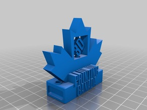 Maple Leaf Benchy by 3D Printing Canada