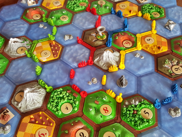how to create guild catan