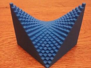 A Discretized Hyperbolic Paraboloid