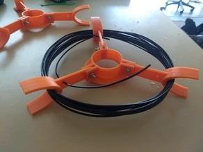 Simple sample spool holder