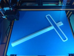 CR-10 45 degree LED bar with heatbed cable guide