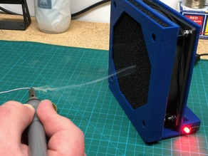 Solder Fume Extractor (120mm fan)