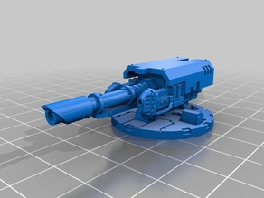 Lasercannon and twin linked Plasma Gun Turret