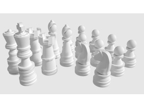 Chess Game Figures