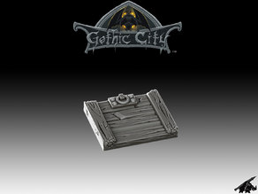 Tilescape GOTHIC CITY Trap Door - Our New KICKSTARTER is Now LIVE!!!!