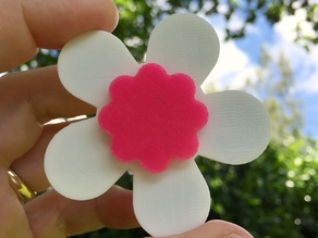 Fidget Flower with bearings