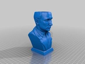 Czar Putin Flower Pot