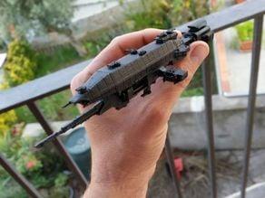 babylon 5 warlock repaired and segmented