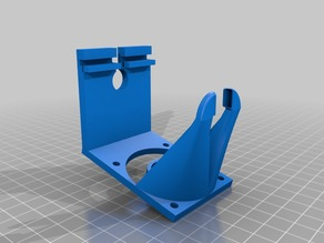 Super Lightweight Fanduct for Creality Printers and 50x50x15 Fans (Ender 2 3 4 5, Cr 10 20 X)