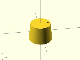 Cork for oil container - tapon de aceitera