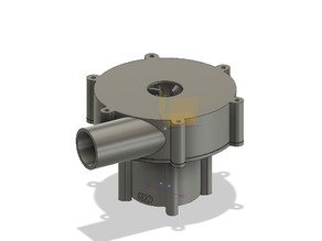 Brushless Water Pump with Seals