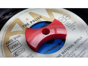 "45rpm 7"" singles adapter ""The Bone"""