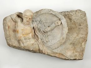 Relief of a Falling Warrior, 2nd century A.D.