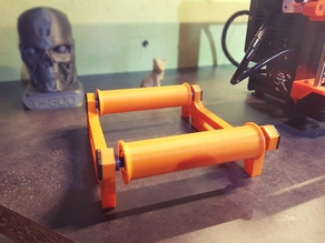 Spool Holder Roller (shelf version)