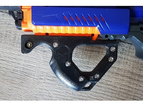 Hera styled Frontgrip for Rapidstrike (or other blasters)