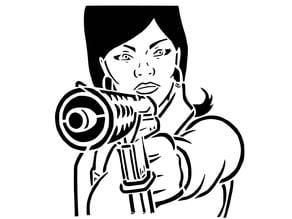 Lana Kana stencil 2