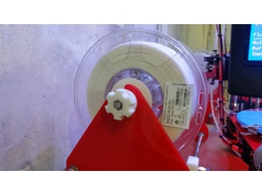Heavy Duty, Easy Loading Spool Holder for 3D Printers (~30 to ~60mm ID, up to ~200mm OD Spools)