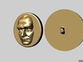 Ataturk Relief Button